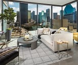 Floor to ceiling Windows in Living Rooms, Residences at Park District