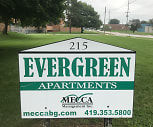 Evergreen Apartments, Napoleon, OH