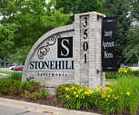 Community Signage, Stonehill Apartments