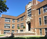 School Apartments, Routt Catholic High School, Jacksonville, IL