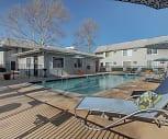 Pool, Hudson Apartments