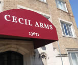 Cecil Arms, Shaw High School, East Cleveland, OH