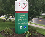North Street Apartments, North Street Elementary School, Geneva, NY