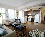 Living Room, Grand Boulevard Lofts