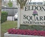 Property Sign, Eldon Square Apartments