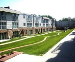 new landscaping, 1001 Apartments