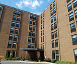 Main Towers, West Park Place Elementary School, Newark, DE
