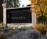 Community Signage, Chambers Pointe Apartments