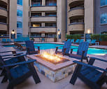 Pool, Broadcast Center Apartments