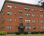 Exterior, Peterson Apartments