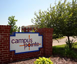 Community Signage, Campus Pointe Apartments