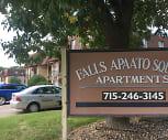 Apaato Square Apartments, River Falls High School, River Falls, WI