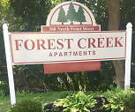 Community Signage, Forest Creek Apartments