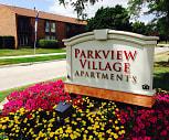 Building, Parkview Village Apartments