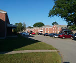 Arlington Gardens Apartments, Thompson Elementary School, Arlington, MA