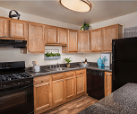 Kitchen, Cheverly Station Apartments