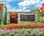 Community Signage, Altitude 970