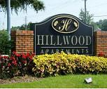 Community Signage, Hillwood Apartments