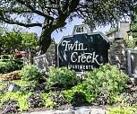 Community Signage, Twin Creek Apartments