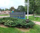 Brightondale Senior Living Apartments, Highland Elementary School, Columbia Heights, MN