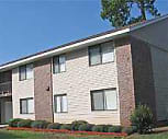 Exterior, Valley Pines Apartments