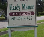 Hardy Manor Apartments, Laurel, MS