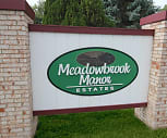 Community Signage, Meadowbrook Manor