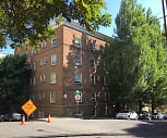 Nevada Court Apartments, West Middle Sylvan Middle School, Portland, OR