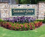 Community Signage, Summer Green Apartments