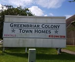 Greenbriar Colony Townhomes, 77039, TX