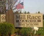 Sign, Mill Race Manor