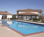 Pool, Lenox West Luxury Apartments