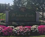 Community Signage, Windsor Castle Apartments