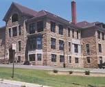 Exterior, Mineral Point School Apartments
