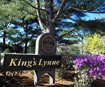 Sign, King's Lynne Apartments