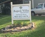 Aspen Villa Apartments, New Boston, TX