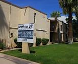 North on 24th, Downtown, Phoenix, AZ