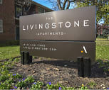 Community Signage, Livingstone Apartments