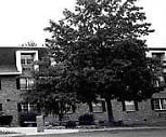 Exterior b/w, The Scholl House At Londontown