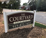 The courtyard apartments, Davis Drive Middle School, Cary, NC