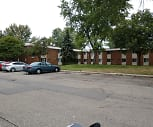 Dunn family senior citizens apartments, Center Line High School, Center Line, MI