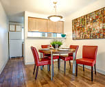 Dining Room, Sunset Park Apartments