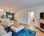 Living Room, White Oak Luxury Apartments