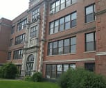 Heritage Apartments, Ss Mary Alphonsus Catholic School, Glens Falls, NY