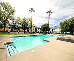 Pool, Siegel Suites MLK Apartments