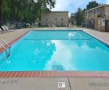 Pool, Davern Park Apartments