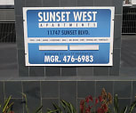 Sundial Sunset-West, Brentwood, Los Angeles, CA