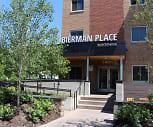 Building, Bierman Place Apartments