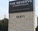 The Reserve at North Dallas Senior Housing, 75251, TX