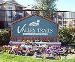 Property Sign, Valley Trails